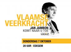 Vlaamse Veerkracht – Jan Jambon komt naar u toe (Edegem)