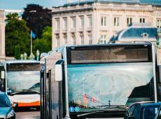 Bussen in Brussel