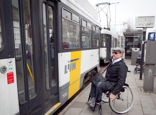 Toegankelijk openbaar vervoer voor iedereen