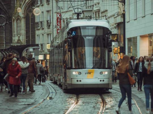 Tram in Gent